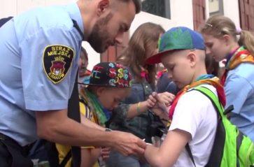 Nie zgub dziecka na wakacjach – akcja straży miejskiej