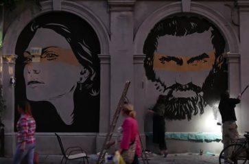 Kazimierskie murale historyczne w Krakowie