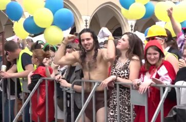 Studenci zawładnęli Krakowem