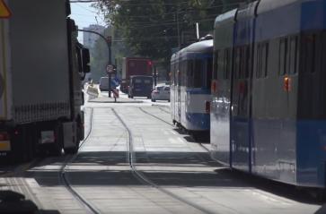 Od środy wieczorami nie pojedziesz tramwajem pod budowaną łącznicą kolejową
