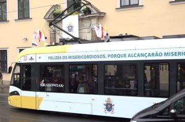 Papież Franciszek w Tram del Papa