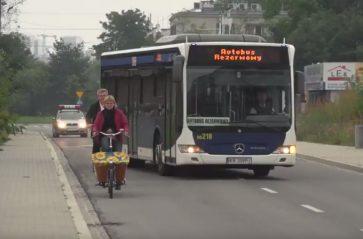 Jak bezpiecznie wyprzedzić rowerzystę?