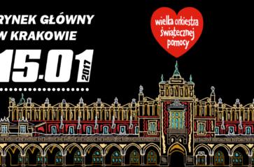 Niedziela pod znakiem serca, czyli 25. Finał WOŚP w Krakowie
