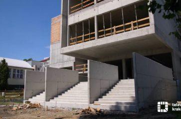 Trwa rozbudowa szkoły przy ul. Katowickiej