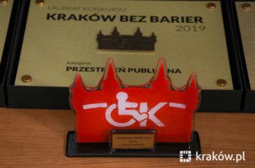 """Znamy laureatów konkursu """"Kraków bez barier"""""""
