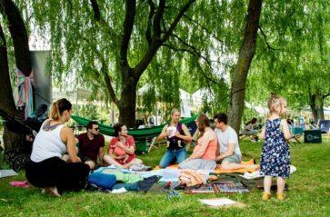 Piknik Krakowski w parku Czyżyny