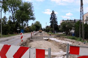 Rozbudowa ulicy Klasztornej: wkrótce kolejny etap