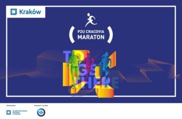 Sztafeta maratońska na bieżniach w ramach projektu PZU Cracovia Maraton