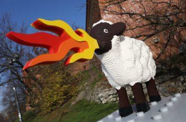 Konkurencja dla Smoka… Owca stanęła u stóp Wawelu