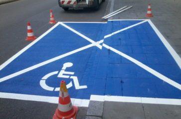 Miejsca parkingowe dla osób niepełnosprawnych