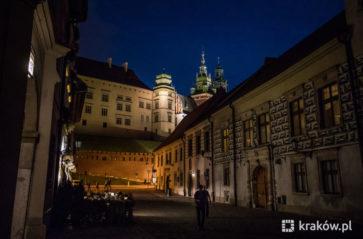 Georadar u stóp Wawelu