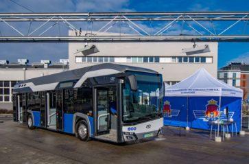 Zasilany wodorem autobus po raz pierwszy w Krakowie