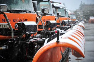 Kraków gotowy na zimę