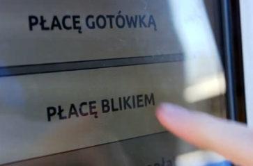 Za bilet w automacie można zapłacić Blikiem