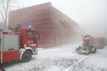 Pożar w archiwum Urzędu Miasta Krakowa