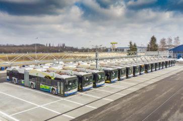 Kraków ma nowe autobusy elektryczne