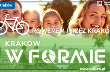 Kraków w formie – Rowerowa podróż przez jedno miasto i trzy kraje