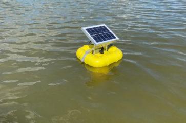 Stacja monitoringowa na wodach Zalewu Nowohuckiego