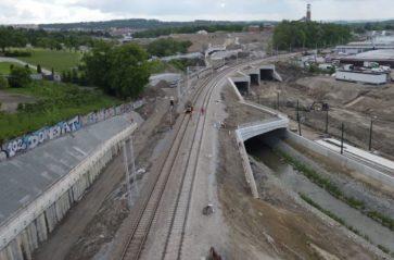 Szlifowanie torów kolejowych