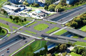 Tunele, mosty i wiadukty na trasie tramwajowej do Górki Narodowej