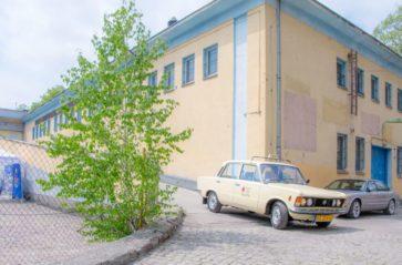 Zabytkowa taksówka MPK na ulicach Krakowa