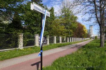 Skwery zasłużonych krakowskich adwokatów