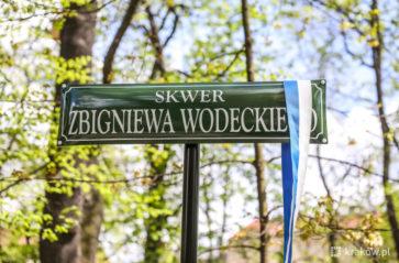 Zbigniew Wodecki ma swój skwer w Krakowie