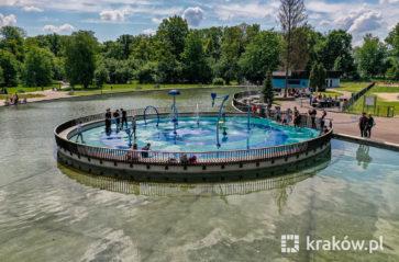 Wodny plac zabaw w parku Jordana już otwarty!