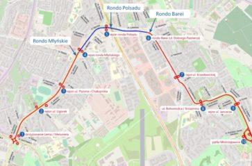 Koncepcja budowy linii tramwajowej do Mistrzejowic na ukończeniu