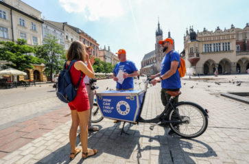 City Helpers na ulicach Krakowa