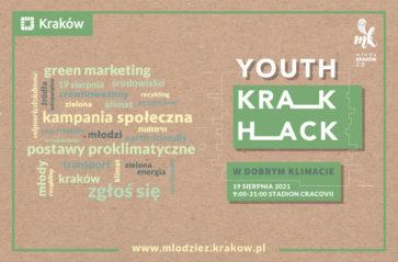 """""""Youth Krak Hack. W dobrym klimacie!"""" już 19 sierpnia"""