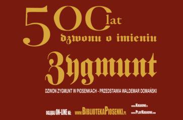 Dzwon Zygmunt w piosenkach