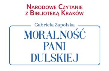 Narodowe Czytanie z Biblioteką Kraków pod kopcem Kościuszki