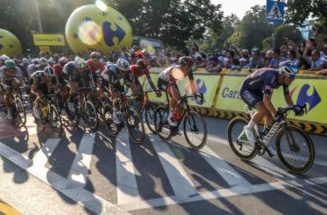 Finisz Tour de Pologne w Krakowie