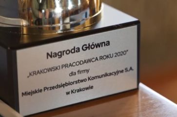 """Konkurs """"Krakowski Pracodawca Roku 2020"""" rozstrzygnięty"""